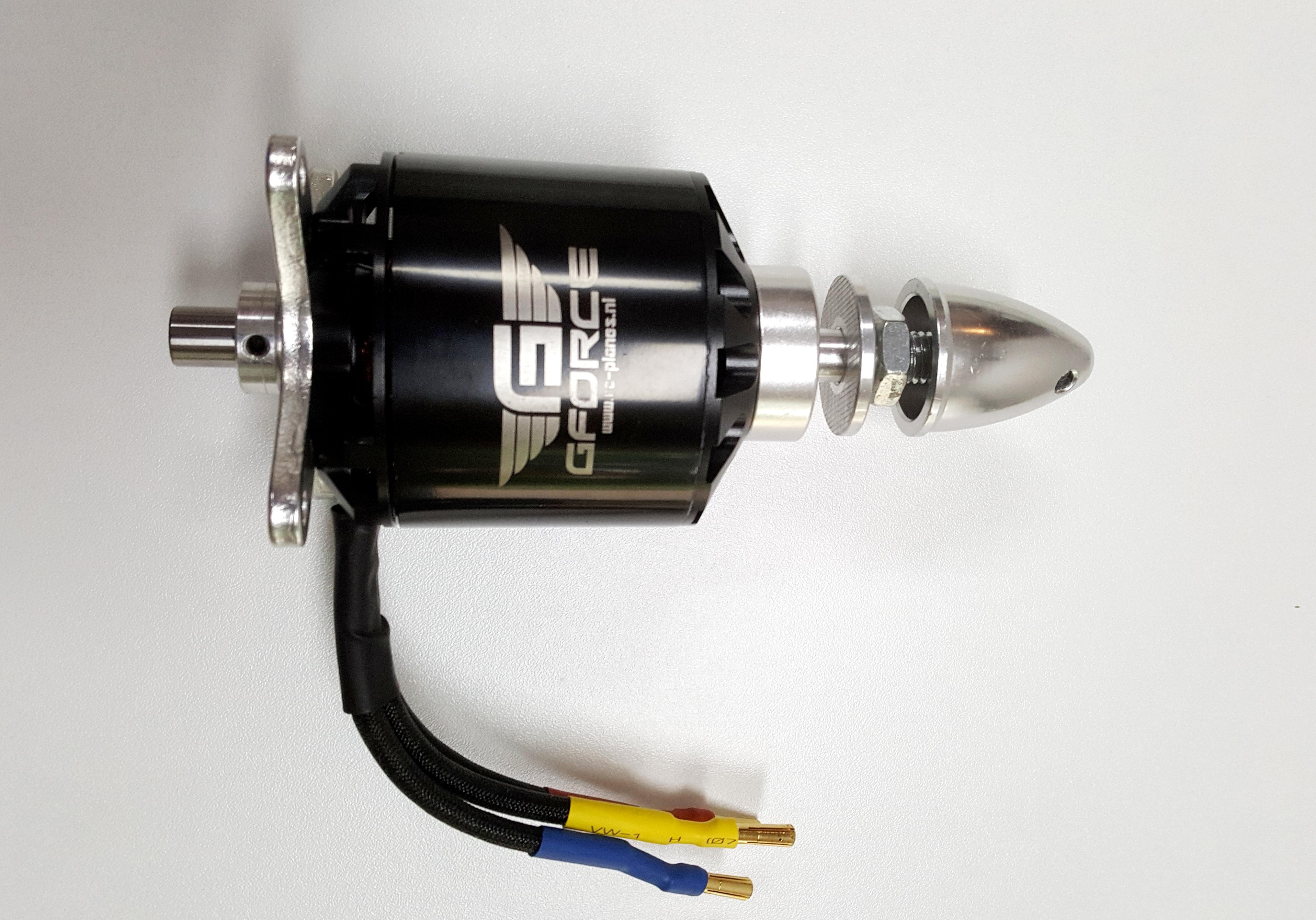 Gforce brushless motors -