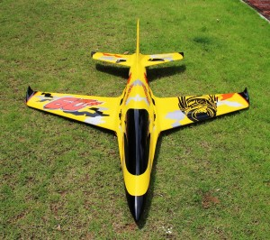 Pilot rc 2.2m Predator sport jet Yellow/Orange/Black