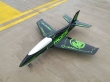 Pilot rc 2.2m Predator jet bl/gr, retracts,air trap,tail pipe.