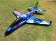 Pilot rc 2.2m Predator jet 03, retracts,air trap,tail pipe.
