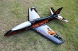 Pilot rc 2.2m Predator jet o/bl, retracts,air trap,tail pipe.