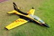Pilot rc 2.2m Viper jet 02, retracts,air trap,tail pipe.