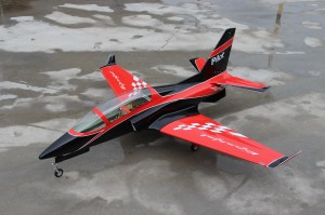 Pilot rc 2.2m Viper jet 01, retracts,air trap,tail pipe