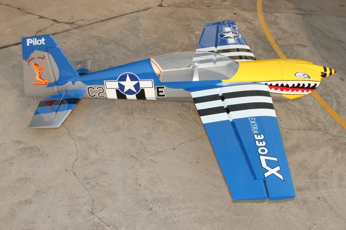 Pilot rc Extra 330 LX CF version - rc-planes