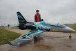 Pilot rc 3.0m Viper jet 10, retracts,air trap,tail pipe