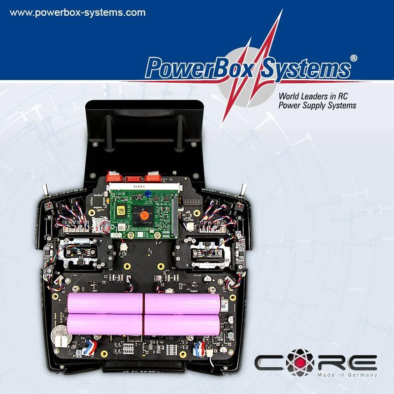Radio System CORE handheld titanium - RC Hobby shop