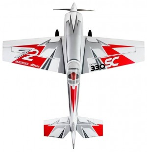 Multiplex RR Extra 330 SC silver-red