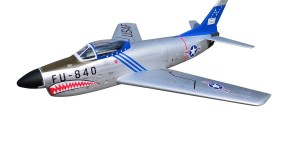 Pilot rc 2.2m F-86D Sabre with tail pipe, UAT, Kevlar fuel tank