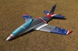 Pilot rc 2.2m Predator jet 18, retracts,air trap,tail pipe.