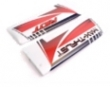 TOP RC  FUSELAGE RED DECALS 1400MM Riot