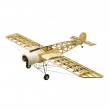 Fokker-E3 Laser Cutting Balsa build KIT 1.5M