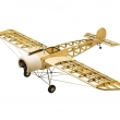 Fokker-E Balsa build kit incl Pre-built Engine&Gun 1.2m